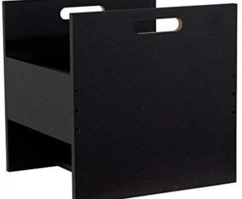 Atlantic 96636247 Record Crate Shelf, Black Review