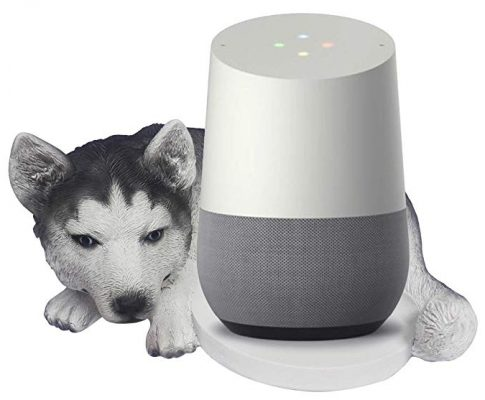 FitSand(TM Husky Dog Crafted Statue Speaker Stand Holder Guard Station for Google Home Review