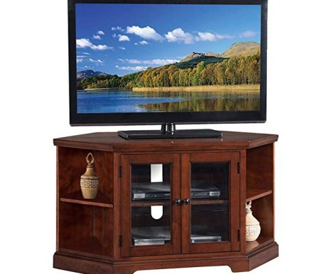 Westwood 46″ Corner TV Stand with Bookcases Review
