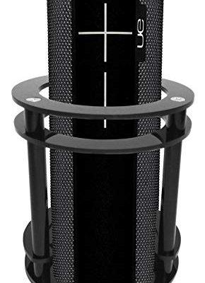 FitSand(TM Speaker Holder Guard Stand Station for Logitech Ultimate Ears UE BOOM 2 (I and II 2 Gen) Speaker – Black Review