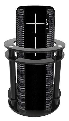 FitSand(TM Speaker Holder Guard Stand Station for Logitech Ultimate Ears UE BOOM 2 (I and II 2 Gen) Speaker - Black