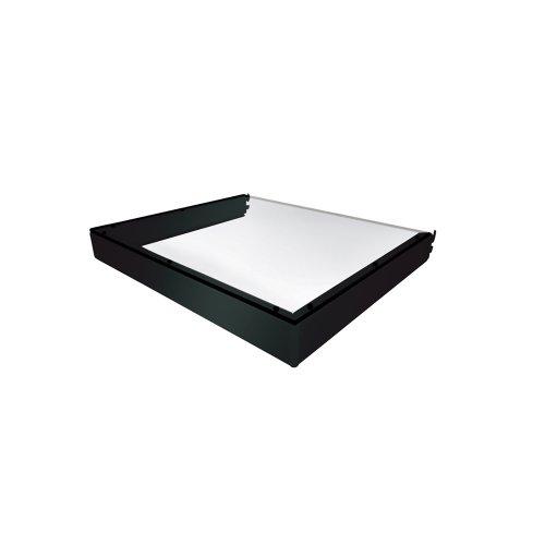 Vantage Point E16D-B Double Attachment Shelf for Evo System ES Series - Black