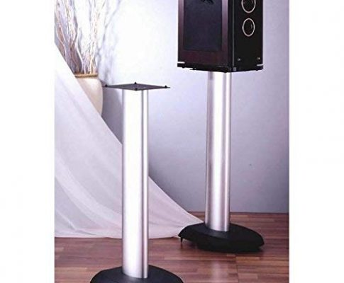 VSP Series Aluminum Speaker Stand in Black – Set of 2 (24 in.) Review