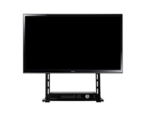 Mount-It! Low Profile Flat Panel TV Mount and Glass Entertainment Center Combo Review