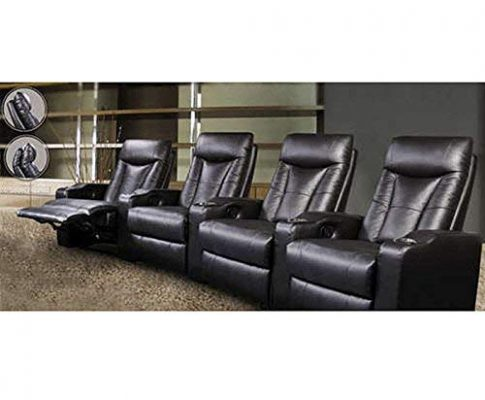 Coaster St Helena Four Seat Home Theater Set-Black (600130-4) Review
