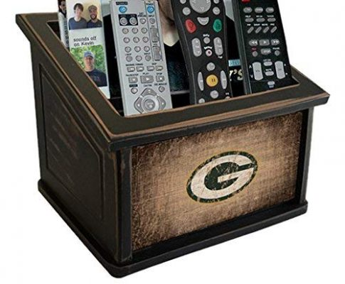 Fan Creations N0765-GBP Green Bay Packers Woodgrain Media Organizer, One Size, Multicolored Review