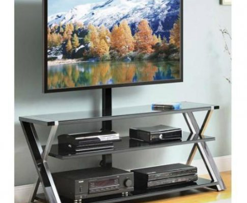 Whalen 3-In-1 Black TV Console for TVs up to 70 by Whalen Review