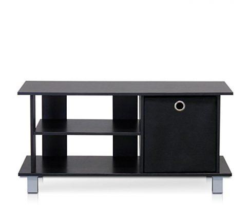 Furinno 13239EX/BK Simplistic TV Entertainment Center with Bin Drawers, Espresso/Black Review