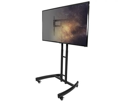 Kanto MTM55 Mobile TV Stand with Mount for 32 to 55 inch Flat Panel Screens – Black Review