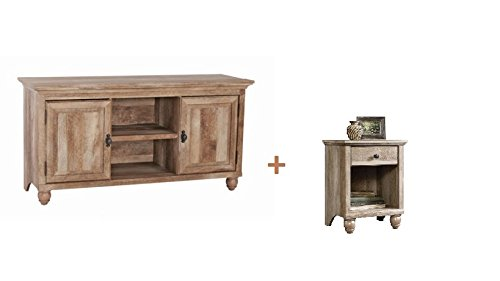 'Better Homes and Garden Crossmill Collection TV Stand Buffet for TVs up to 65