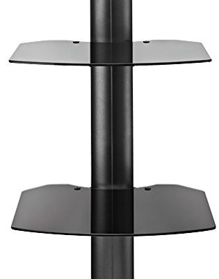 Omnimount TRIA2B Shelf Wall System, Black Review