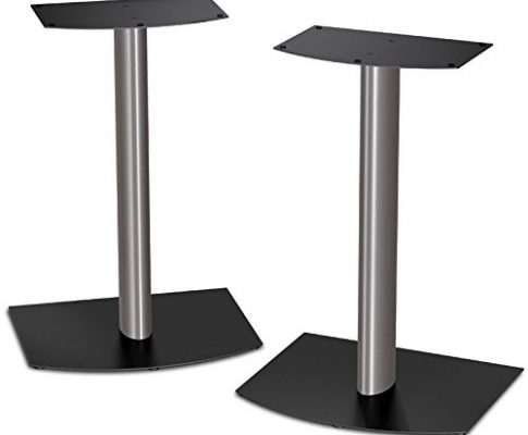 Bose FS-1 Bookshelf Speaker Floor Stands (pair) – Black and Silver (31089) Review