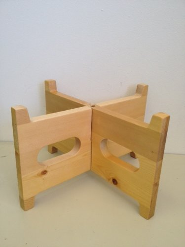 Contemporary Solid Wood Counter Stand (Maple)