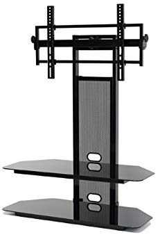 LCD/LED TV Stand for 40 to 65-Inch Flat Panel LCD TV with Universal LCD Mounting System
