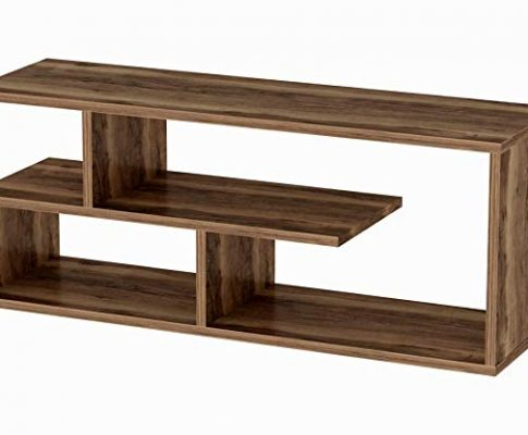 Line TV Stand (Brown) Review