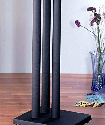 RF series Heavy Duty Speaker Stand in Black – Set of 2 (24 in. H (27 lbs. pair)) Review