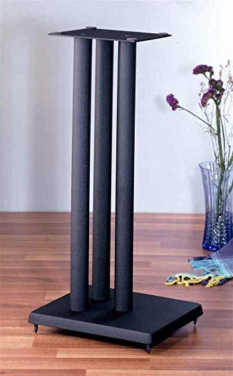 RF series Heavy Duty Speaker Stand in Black - Set of 2 (24 in. H (27 lbs. pair))
