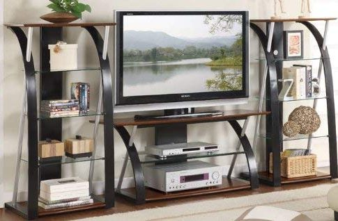 3pc Entertainment Centre with Media Tower in Espresso Finish Review