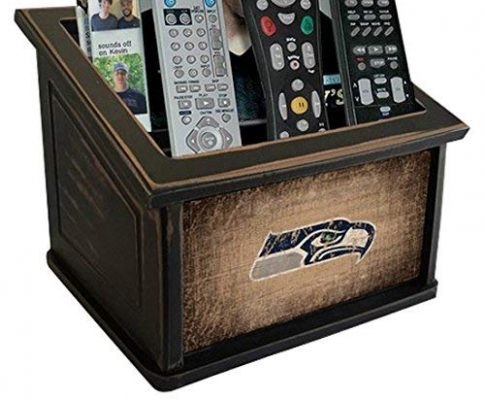 Fan Creations N0765-SEA Seattle Seahawks Woodgrain Media Organizer, Multicolored Review