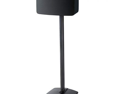 Sanus Speaker Stand for Sonos Play:5 – Audio Enhancing Design for Vertical & Horizontal Orientations with Built-in Cable Management and Premium Aluminum Materials (Black) – WSS51-B1 Review