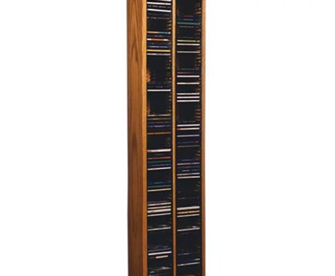 Cdracks Media Furniture Solid Oak Tower for CD Capacity 160 CD's Honey Finish 209-4 (Individual Locking Slots) Review