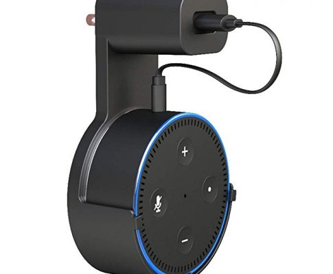 Loreleyo Echo Dot Wall Mount Hanger Bracket for The 2nd Generation of Dots, No Need for Messy Wires Or Screws(Black) Review