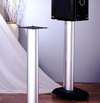 VSP Series Aluminum Speaker Stand in Silver – Set of 2 (29 in.) Review