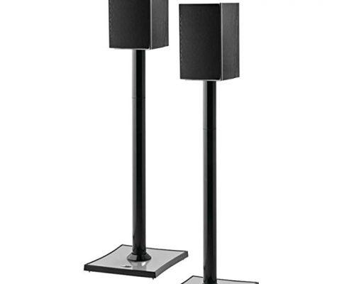 OmniMount GEMINI2B Bookshelf Speaker Stand, Black Review