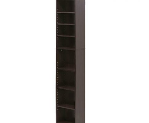 Furinno 16074EX Indo 8-Tier Media Tower, Espresso Review