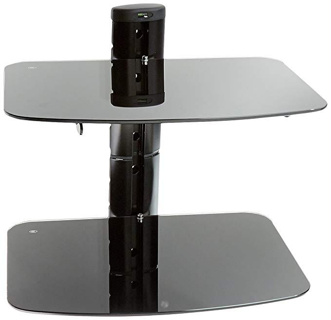 PEERLESS-AV ESHV30 A/V Wall Shelf with Glass (Dual Shelves)