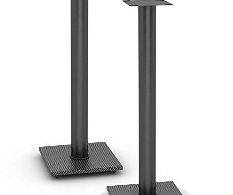 Atlantic 77335799 Speaker Stands for Bookshelf Speakers up to 20 lbs – Pair (Black) Review