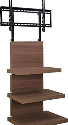 Ameriwood Home Hollow Core AltraMount TV Stand with Mount for TVs Up to 60-Inch, Walnut Finish Review