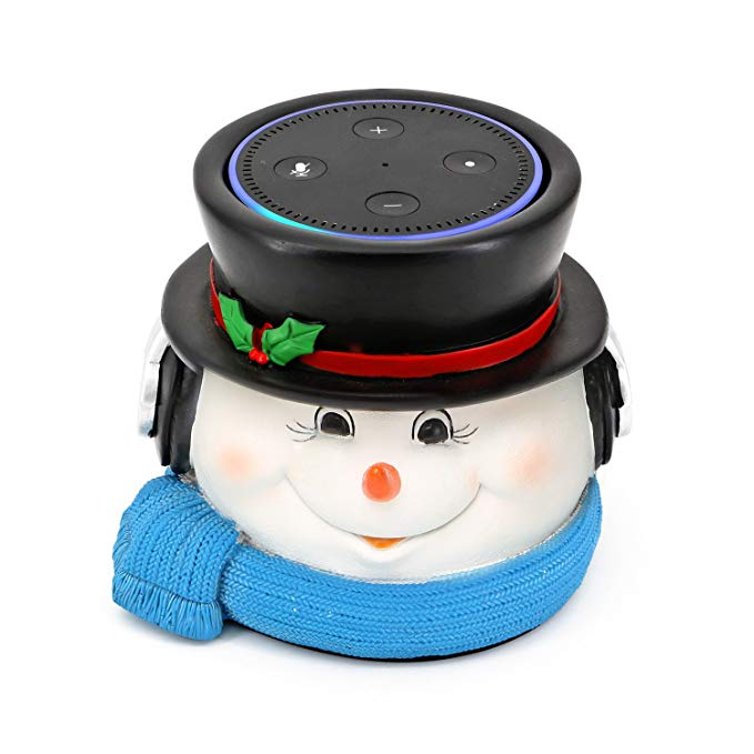 Snowman Speaker Stand for Amazon Echo Dot 2nd and 1st Generation, Jam Classic Speaker