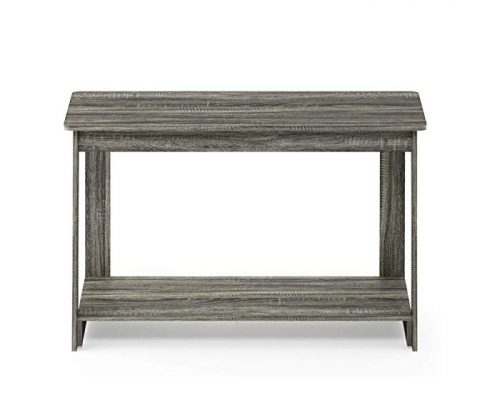 FURINNO 18041GYW Beginning, TV Stand, French Oak Grey Review