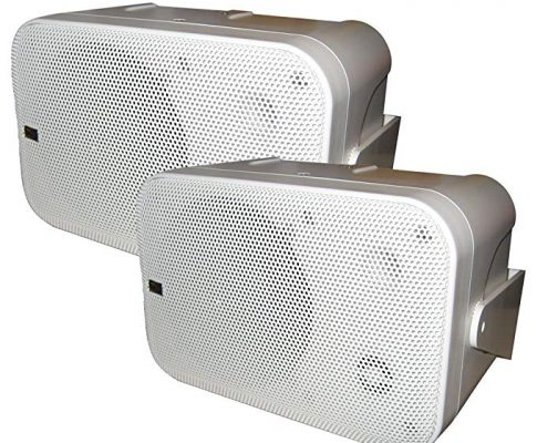 Poly-Planar B0 X 200W White Waterproof Full Size Box Speakers Pair Review