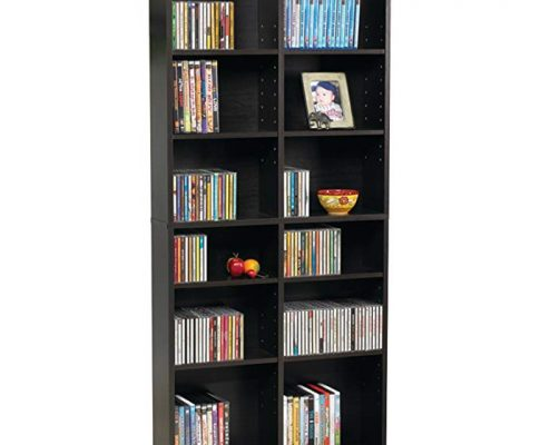 Atlantic 38435719 Oskar Media Cabinet for 464 CD or 228 DVD, Espresso Review