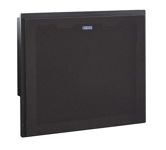 Ashley Furniture Signature Design - Large Integrated Audio Entertainment Unit - TV Stand Sold Separately - Black